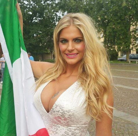 Apresentadora promete ficar nua se Itália for campeã