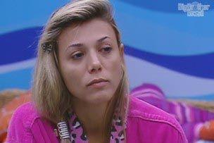 Fabiana chora em conversa com Fael / Reprodução/TV Globo