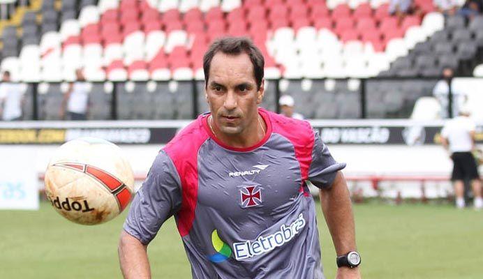 Edmundo fará a sua despedida hoje em São Januário / Marcelo Sadio/Divulgação/vasco.com.br