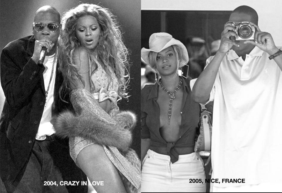 Beyoncé divulga fotos da família desde 2002