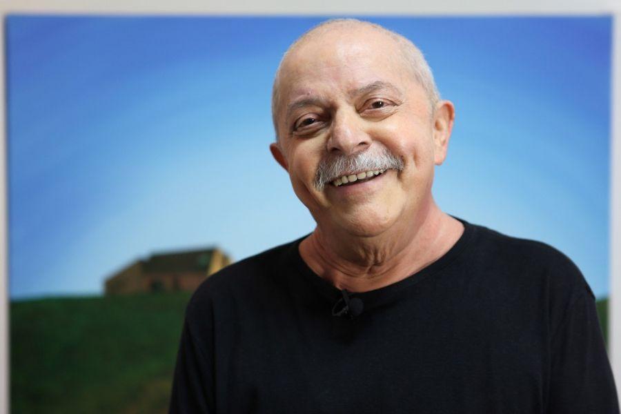 Lula concedeu a entrevista um dia após saber que está curado do câncer / Ricardo Stuckert/Instituto Lula