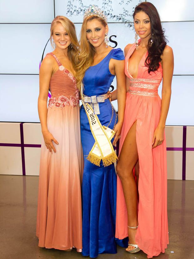 Top3 Miss Mundo Brasil 2012