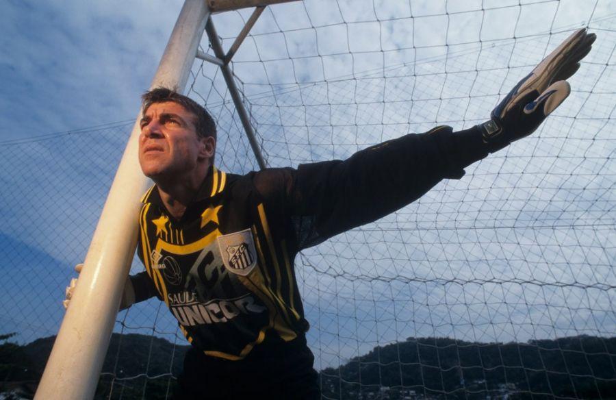 Zetti defendeu o Santos por três temporadas / Reprodução/Zetti1.com.br