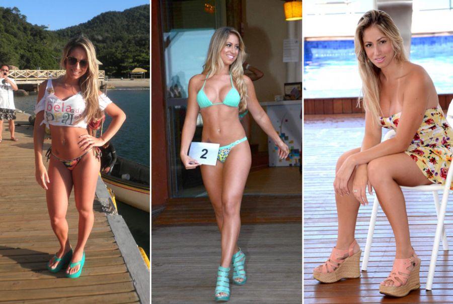 Carol Narizinho é gaúcha e já fez alguns trabalhos como modelo