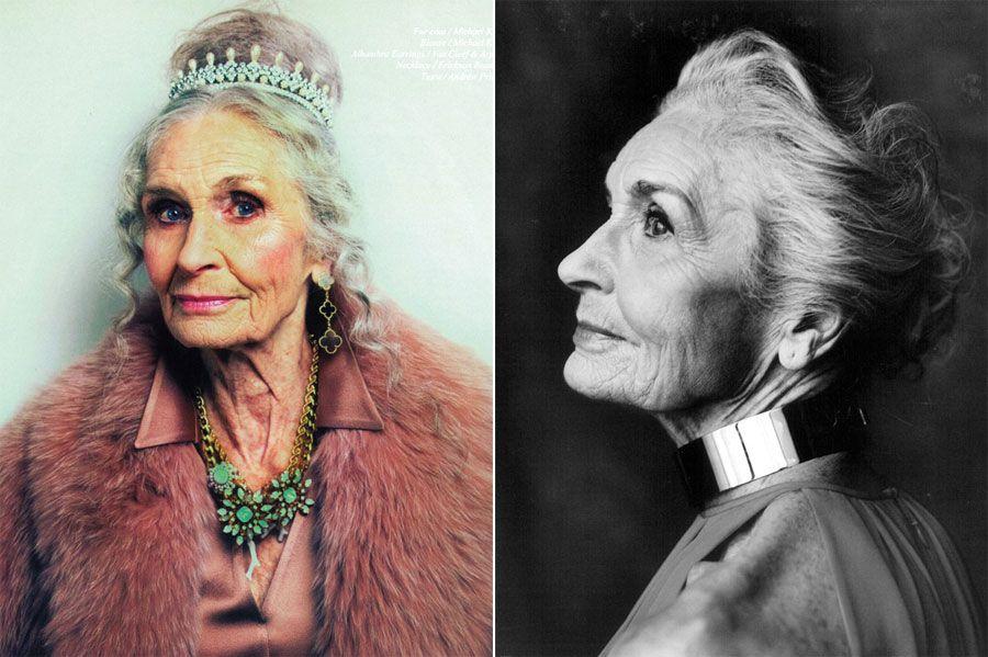 Daphne Selfe é a modelo mais velha do mundo em atividade / Divulgação/Models 1