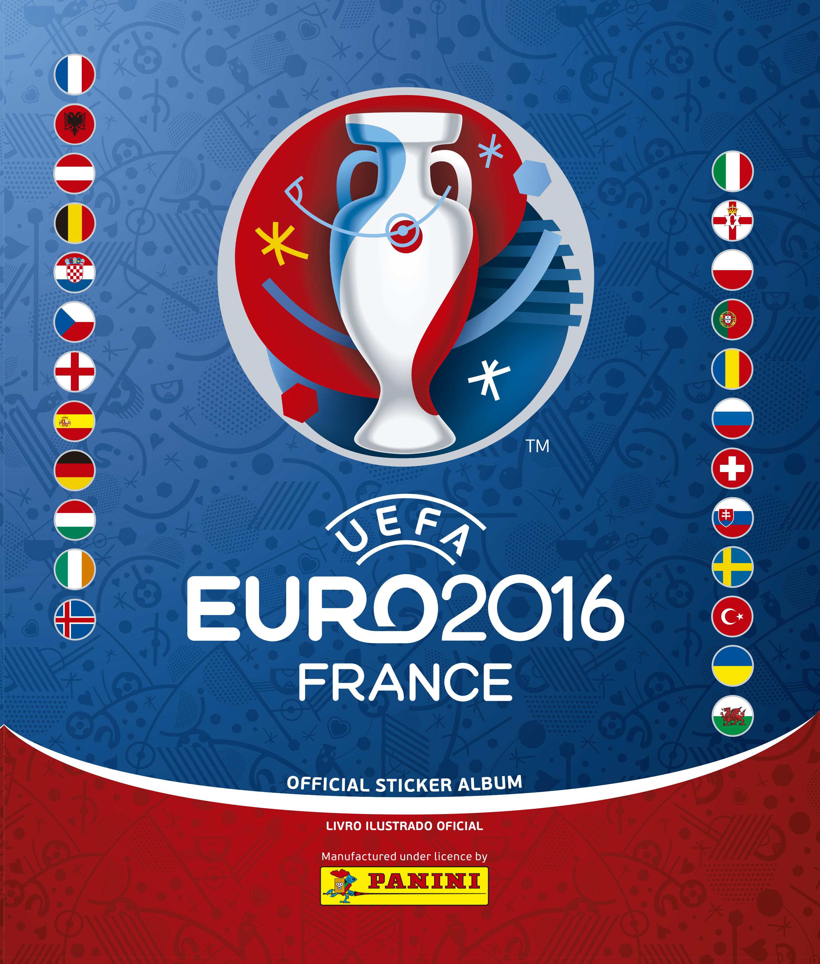Editora lança figurinhas da Euro 2016
