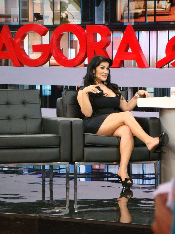 Bruna Ferraz em sua participação no programa