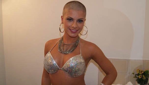 Babi Rossi exibe novo visual / Tatiane Moreno/band.com.br