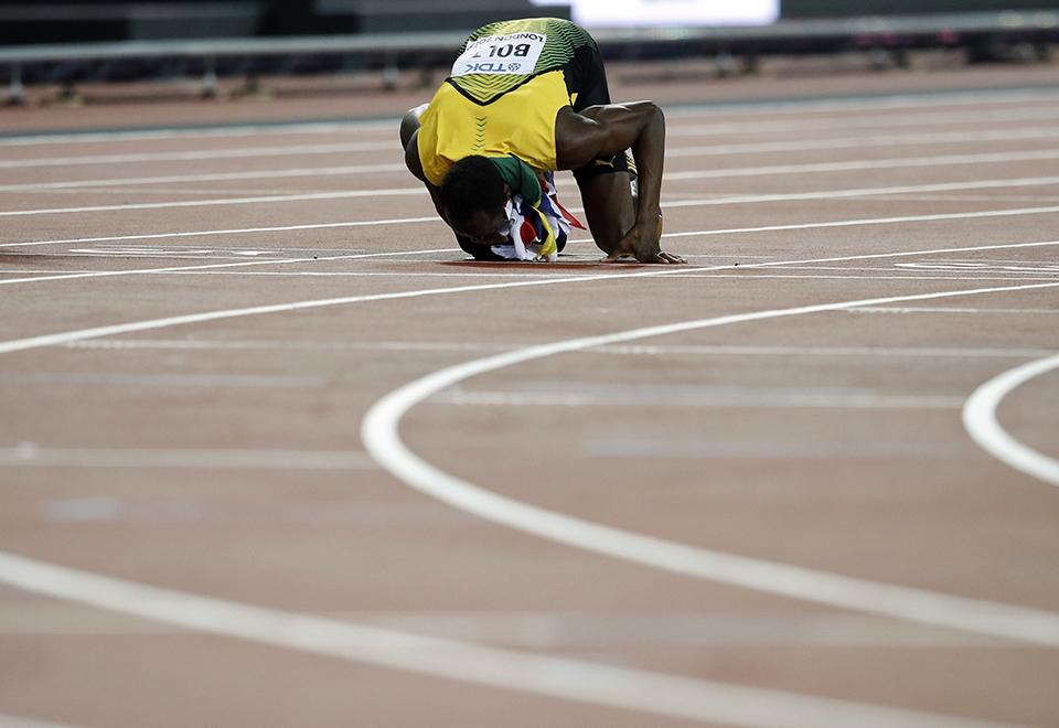 A despedida de Usain Bolt