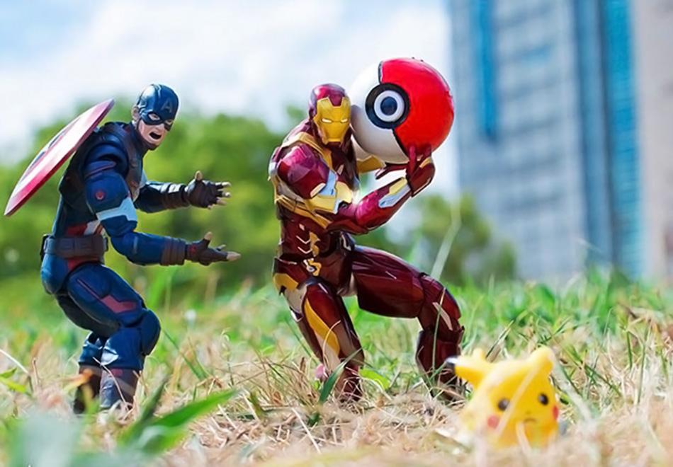 Figure Action, os heróis como você nunca viu