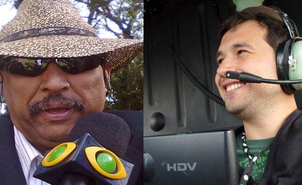 Paulão e Ezequiel seguiam para uma cobertura policial quando foram atingidos