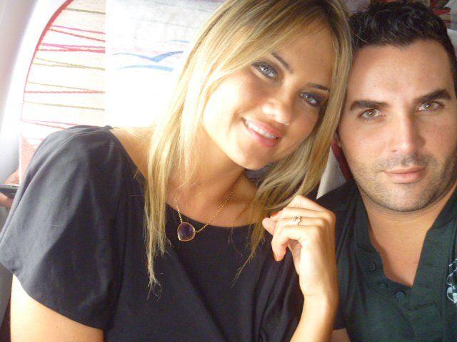 Samuel Ruiz ao lado de sua cliente famosa Ellen Rocche / Arquivo pessoal