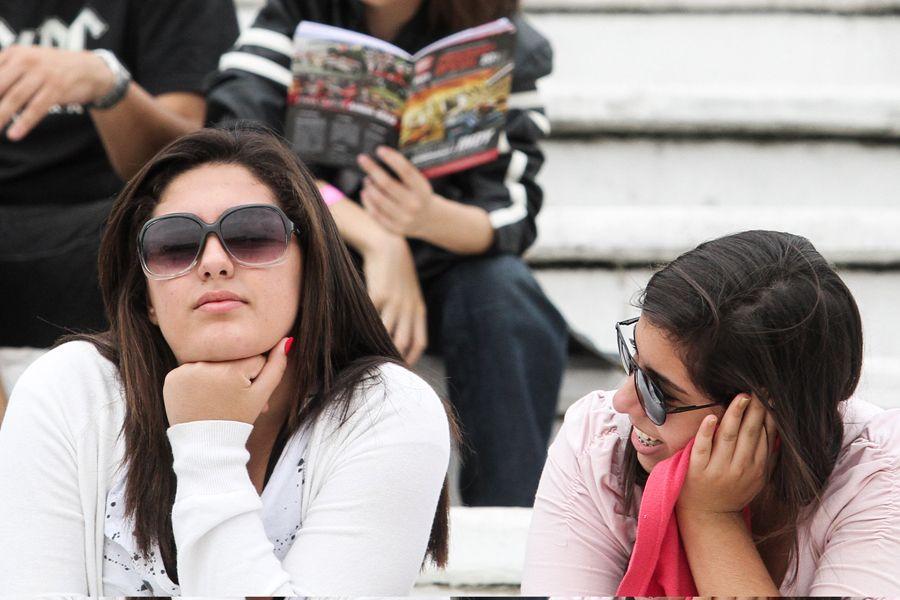 Público feminino marcou presença nas arquibancadas