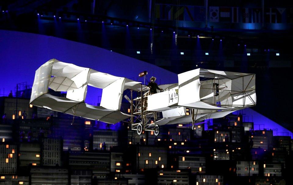 Melhores momentos da abertura dos Jogos – Rio 2016