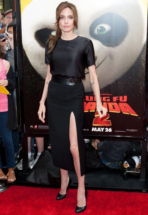 Pretinhos básicos de Angelina Jolie