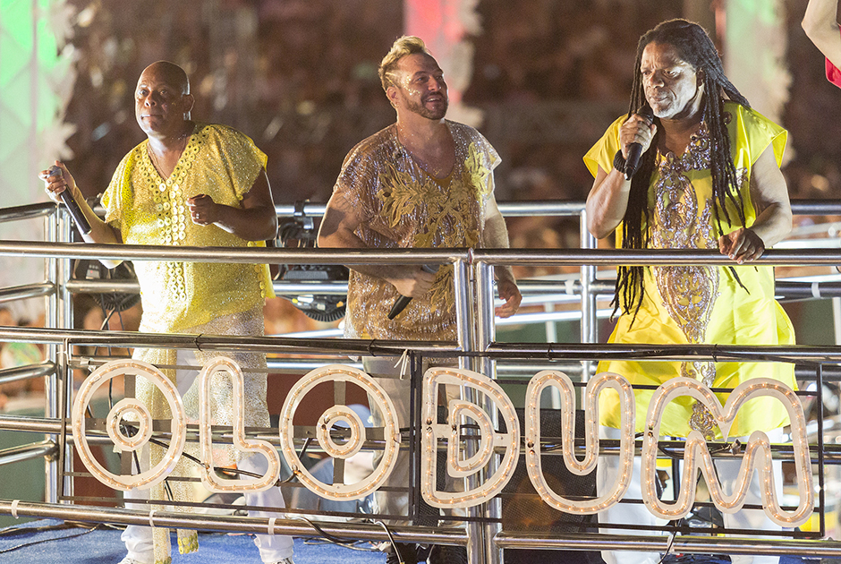 O ritmo da banda Olodum é uma tradição