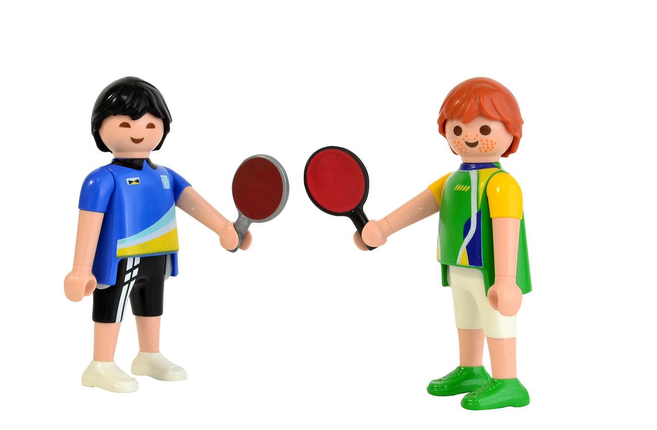A Olimpíada em Playmobil