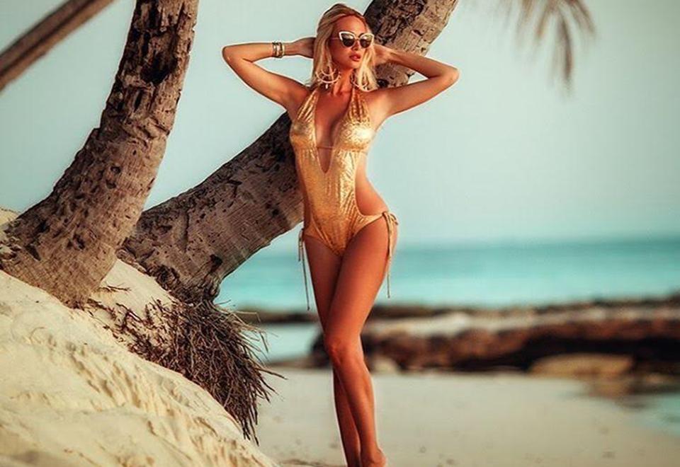 Victoria também gosta de praia e frequenta sempre que pode