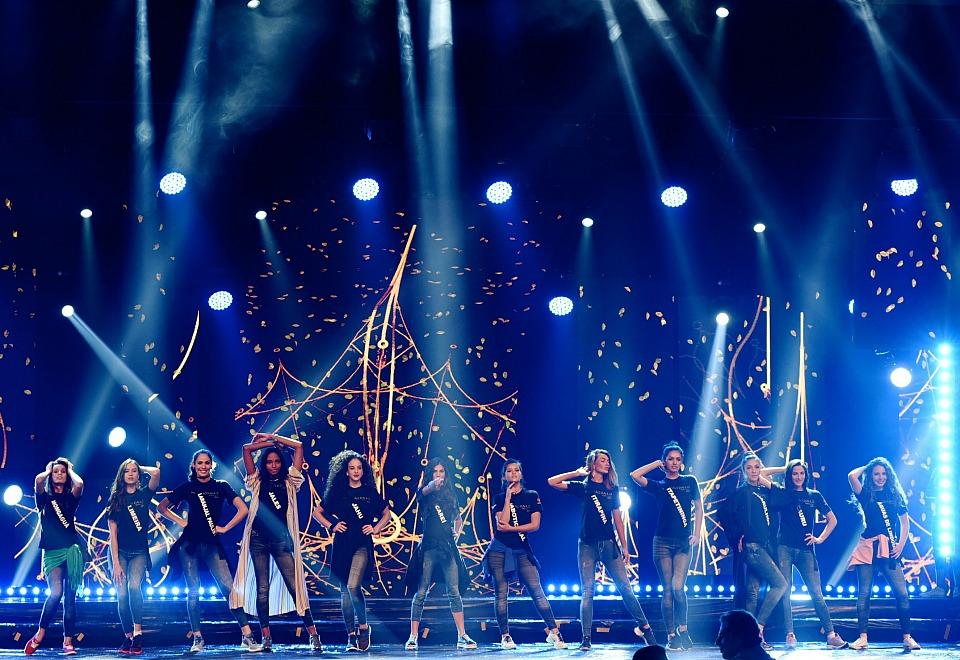 Miss SP: Candidatas à coroa fazem ensaio de palco