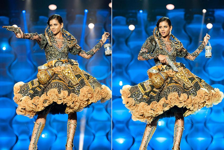Miss Pernambuco, Rhayanne Ney, encarna Maria Bonita, o ícone da mulher nordestina