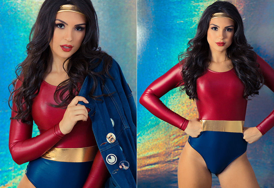 Miss São Paulo 2019 encarna Mulher-Maravilha em ensaio