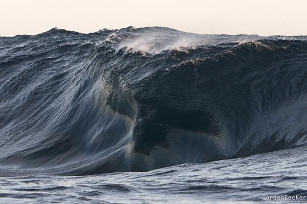 Fotógrafo faz imagens impressionantes do oceano