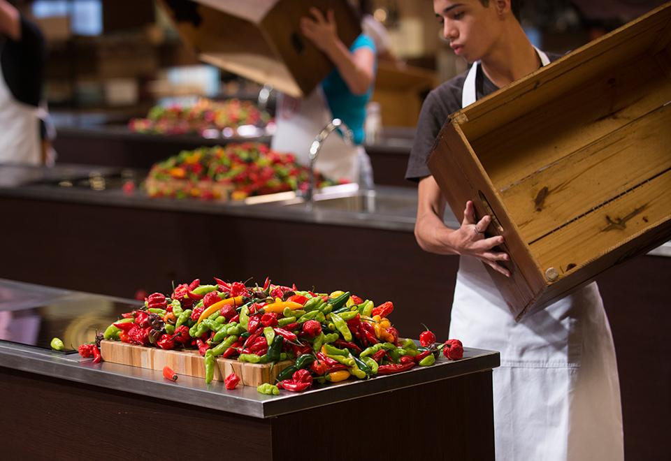Caixa Misteriosa desafia cozinheiros amadores com pimentas