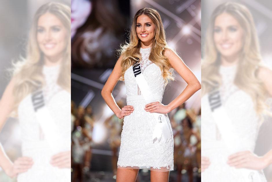 Veja a participação da Miss Brasil,  Marthina Brandt, no Miss Universo