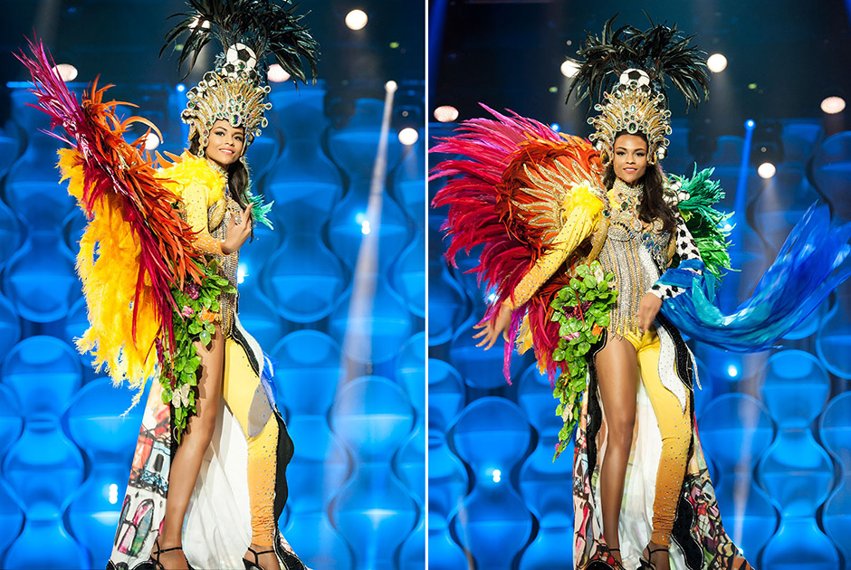 Miss Rio de Janeiro, Hosana Elliot, apresenta as belezas e encantos da capital de seu Estado