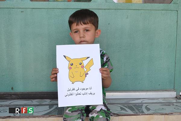 Campanha usa Pokémon Go para chamar atenção para as crianças sírias