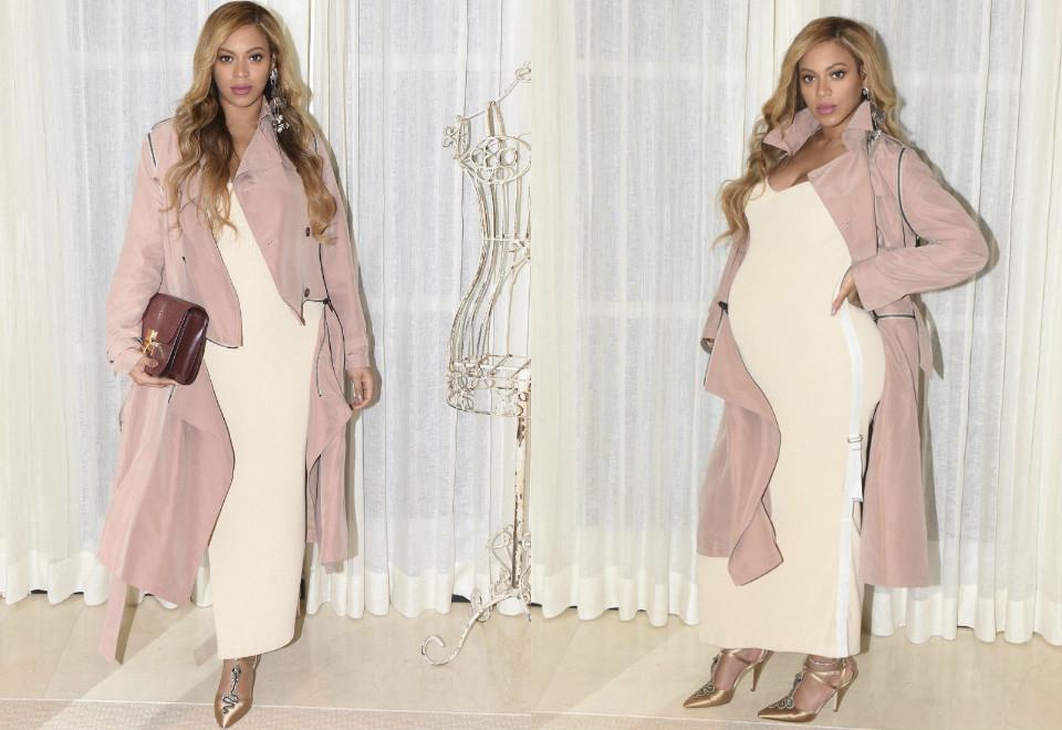 Confira os cliques da Beyoncé grávida