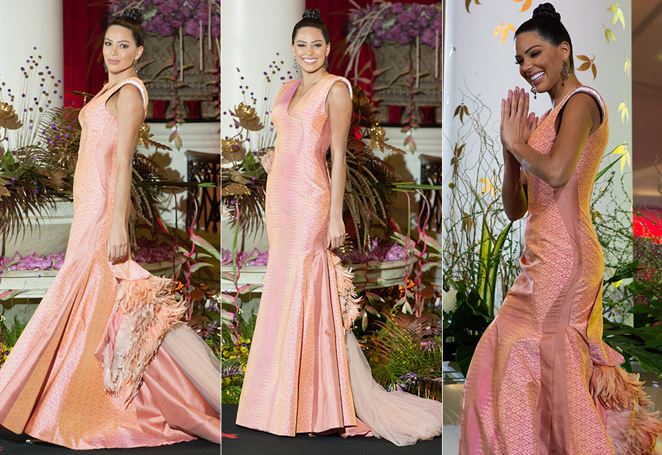 Relembre a passagem de Mayra Dias pelo Miss Universo 2018