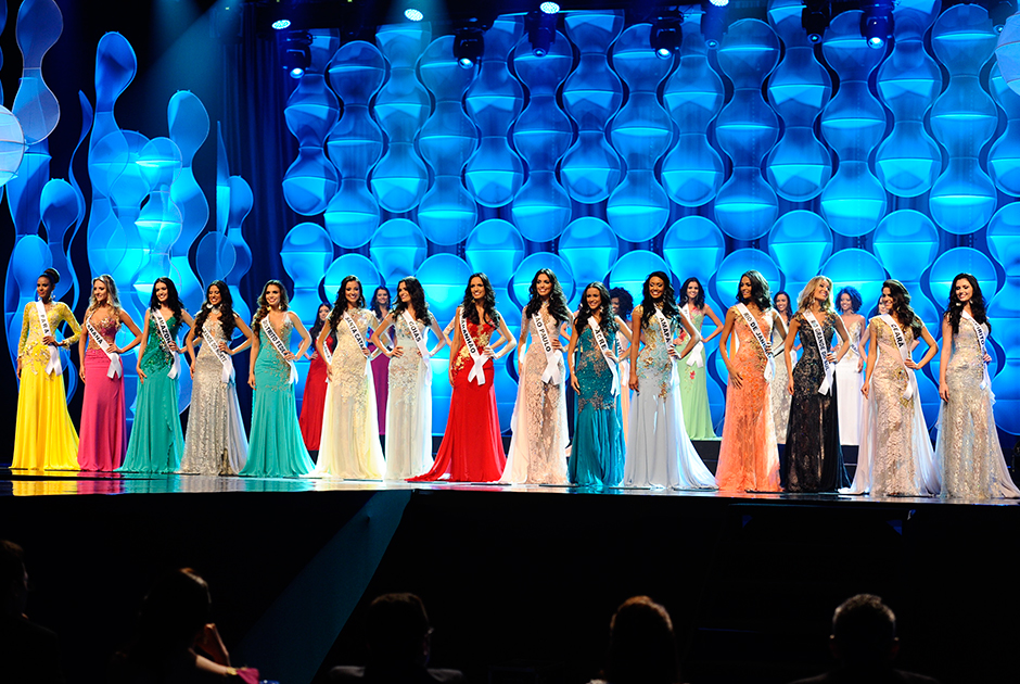 As quinze semifinalistas do Miss Brasil 2014