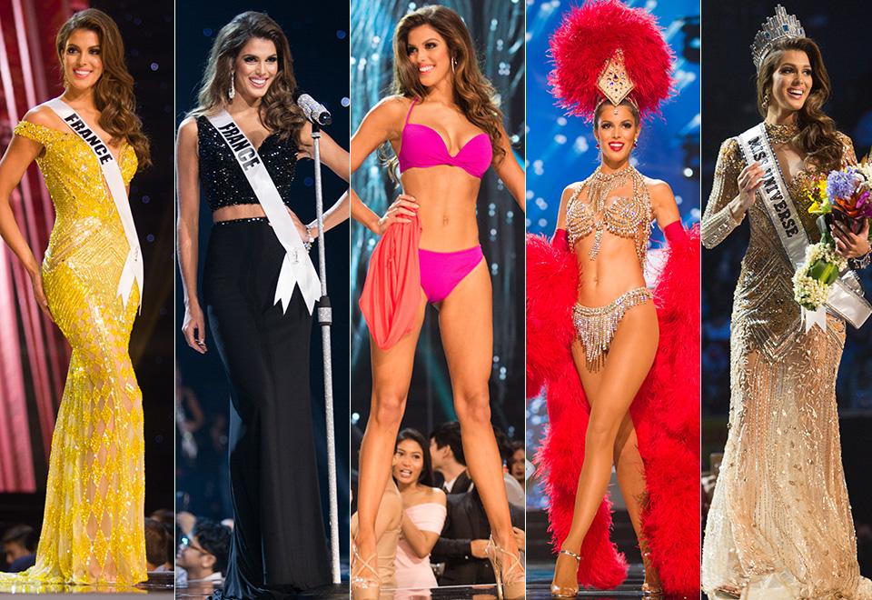 Relembre a trajetória de Iris Mittenaere, eleita Miss Universo 2016