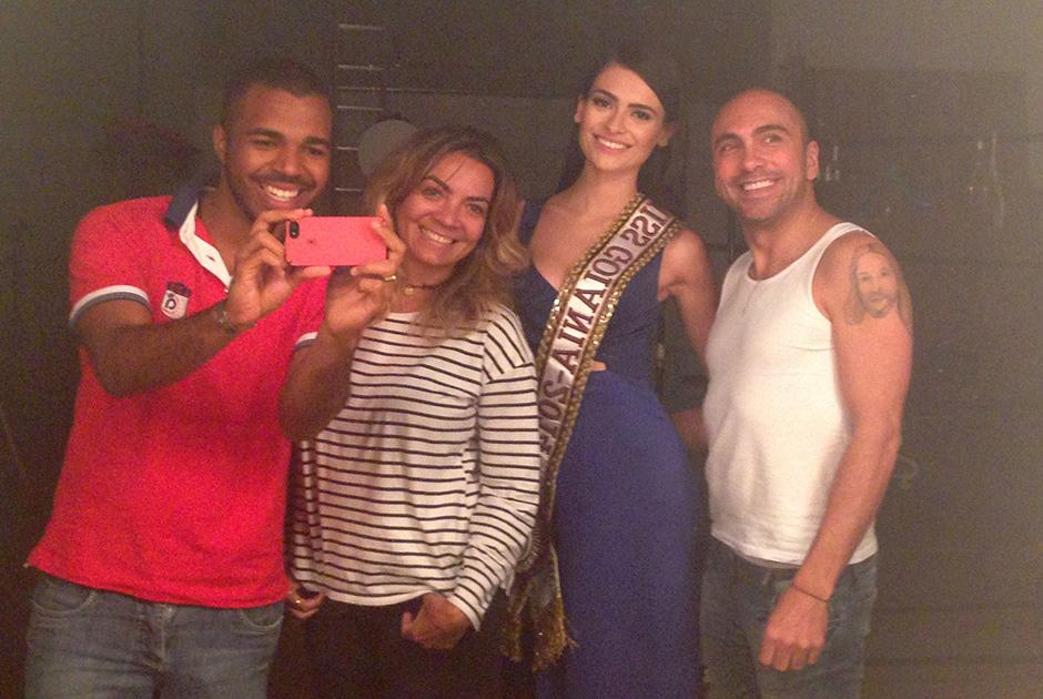 No �ltimo dia 29/07 a Miss Goi�nia fotografou para a Pactus. A beleza ficou sob os cuidados de Alessandra Nunes.