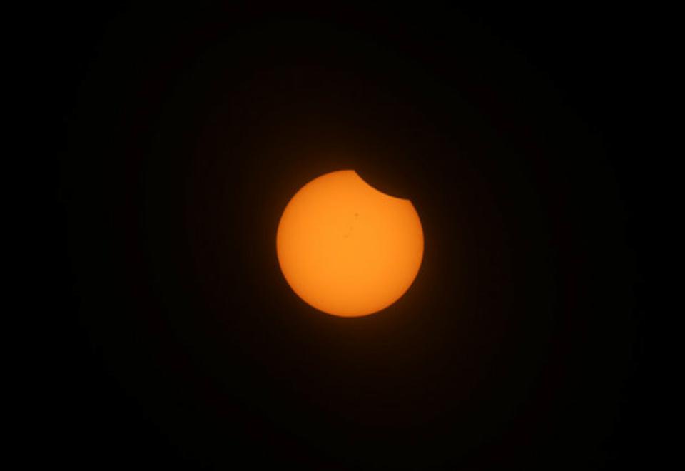 Confira fotos do eclipse solar de 21 de agosto