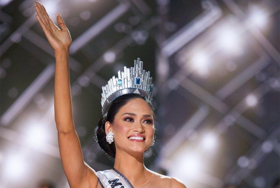 Em 2015 foi a vez da filipina Pia Wurtzbach conquistar o título