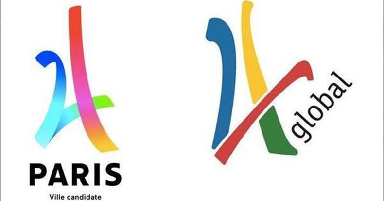 Logo de Paris é acusado de plágio Ansa 790x415.jpg