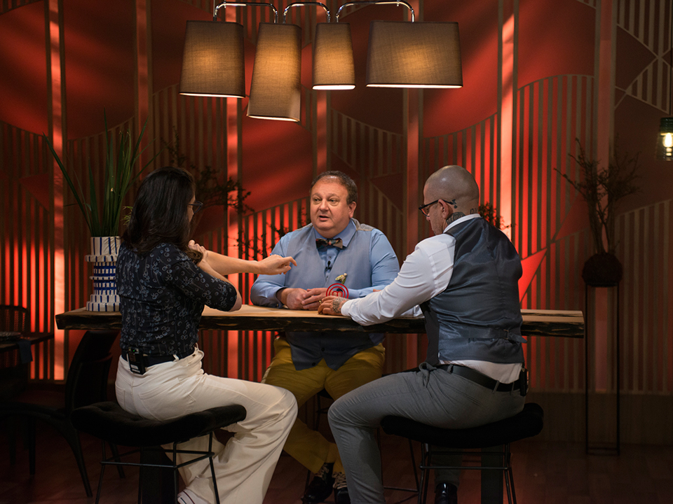 Paola, Jacquin e Fogaça debateram sobre os melhores pratos