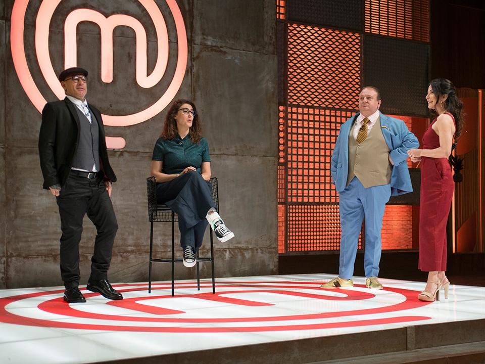 Henrique Fogaça, Paola Carosella, Erick Jacquin e Ana Paula Padrão relataram os desafios da prova