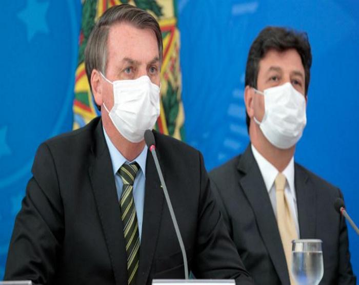 Ministro da Saúde evita entrar em polêmica com Jair Bolsonaro após ser criticado