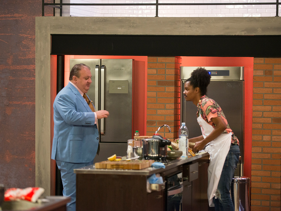 Erick Jacquin conversou com Bruno sobre o seu prato