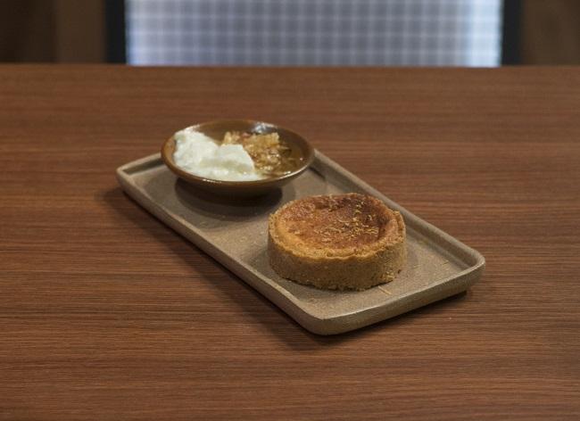 Cheesecake de maçã | Band Receitas