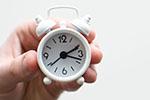 atrase o relógio