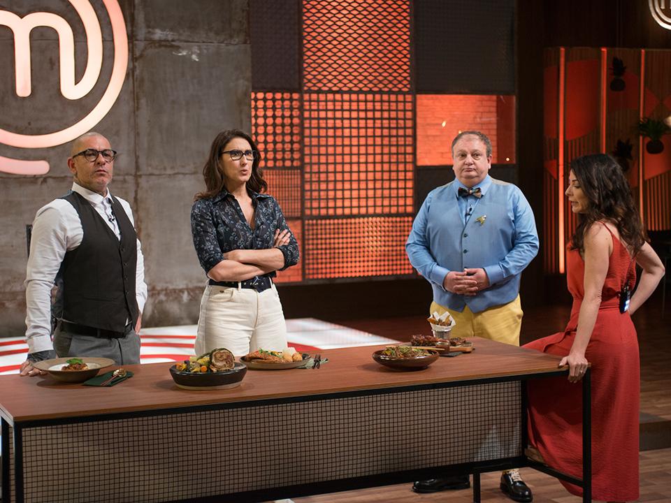 Henrique Fogaça, Paola Carosella e Erick Jacquin debateram a dificuldade da prova