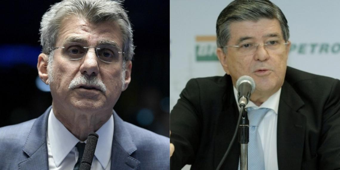 Romero Jucá e Sérgio Machado viram réus em um processo da Lava Jato