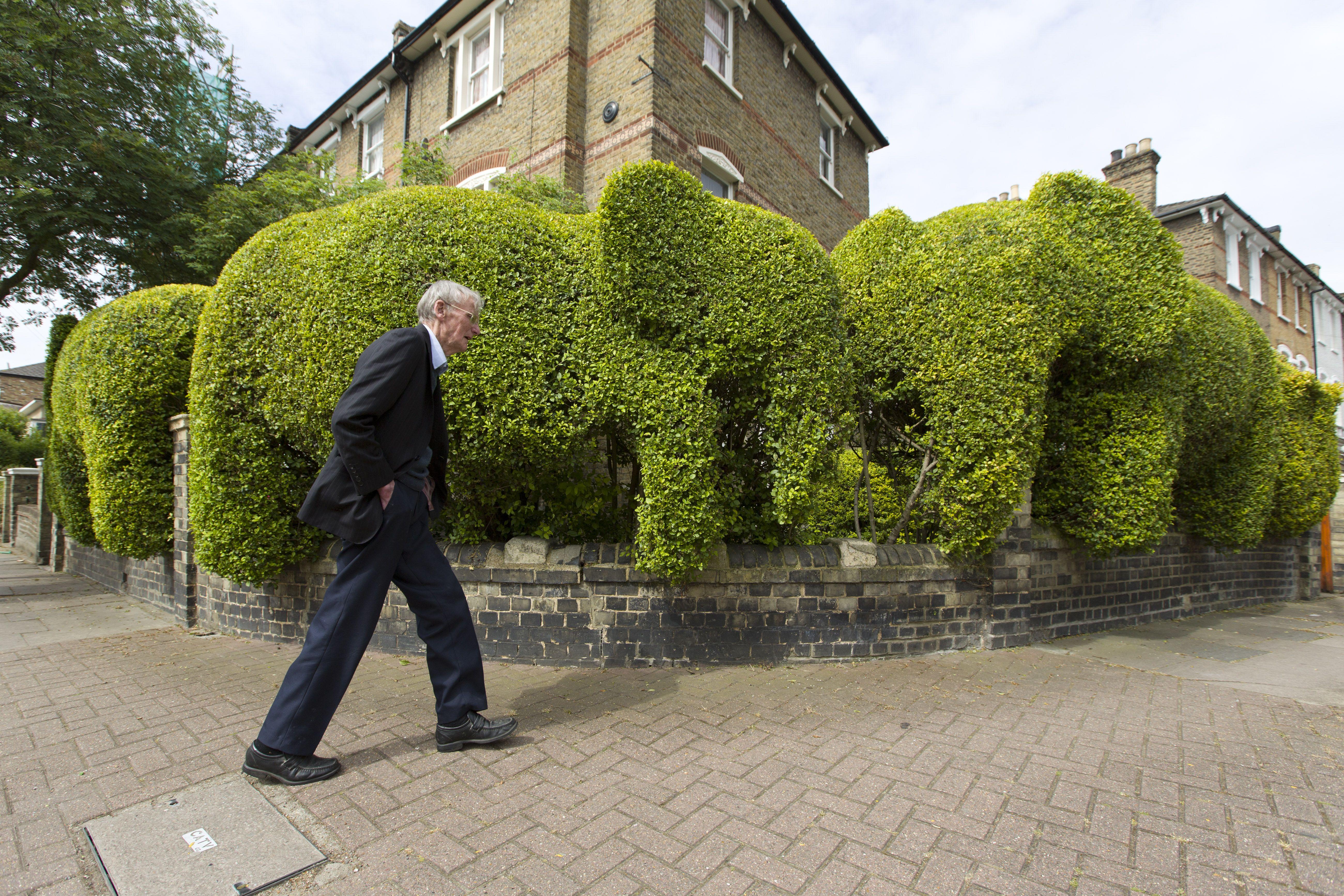 banco bradesco jardim londres campinas:Arquiteto faz jardim de elefantes em Londres