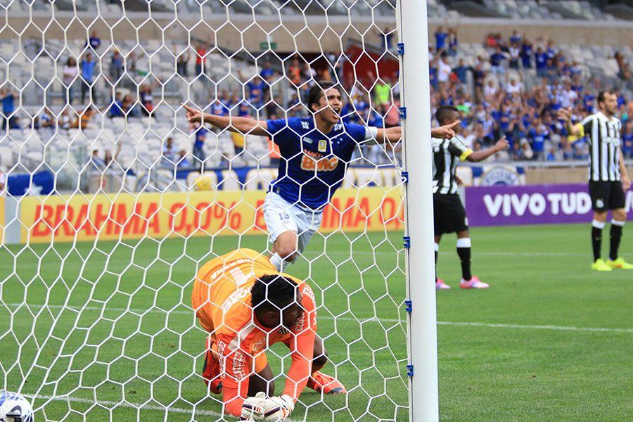 Cruzeiro 3 x 0 Santos - derrota esperada