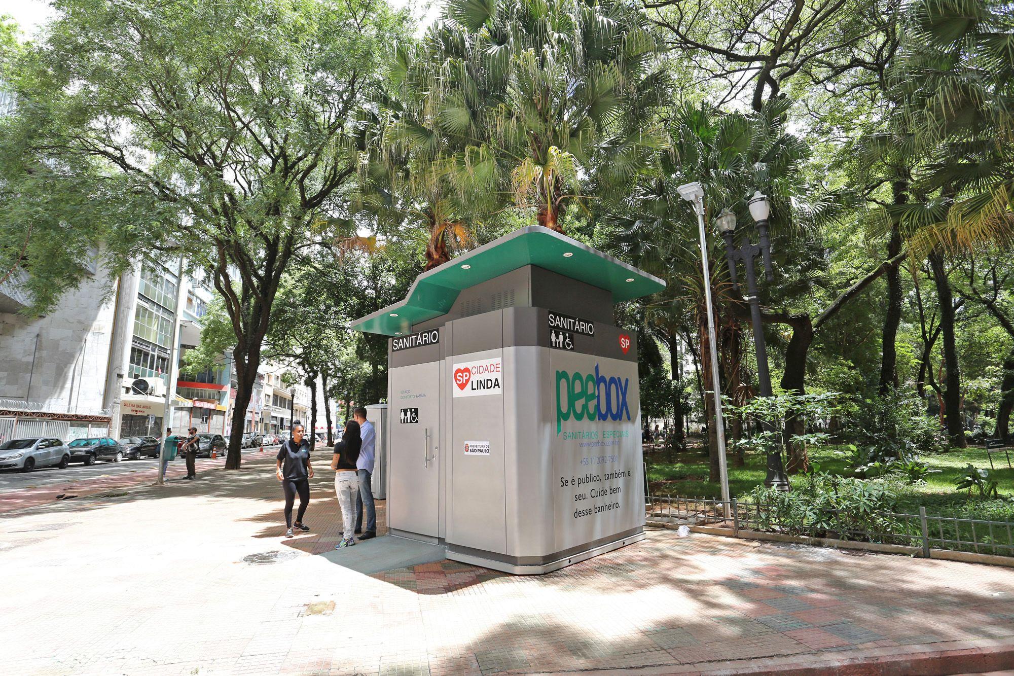 banheiros químicos / Divulgação/Prefeitura do Estado de São Paulo #377561 2000 1333